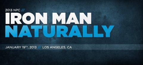 2013 NPC Iron Man Naturally
