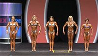 2013 IFBB Fitness Prejudging Replay
