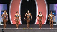 2013 Women's Physique Olympia Prejudging Replay