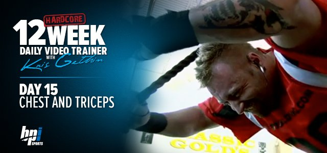Kris Gethin's 12-week Trainer