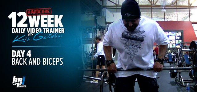Kris Gethin's 12-week Trainer