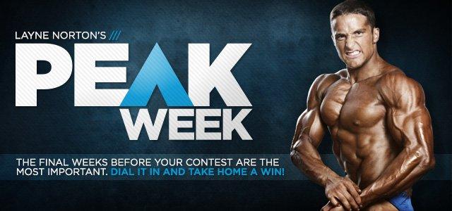 Layne Norton's Peak Week - Download Your Free Posing Guide