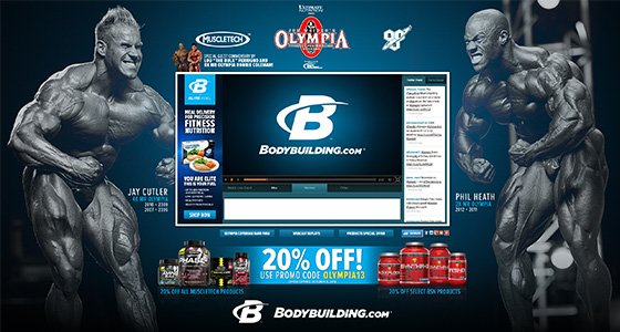 Bodybuilding.com 2013 Olympia Webcast