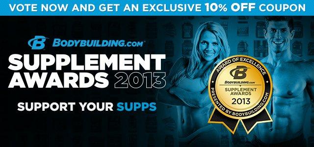 2013 Bodybuilding.com Supplement Awards Nominees