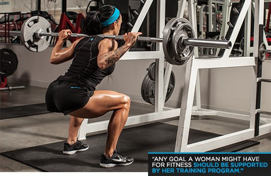 women and weights 8 myths debunked ForLady Fitness