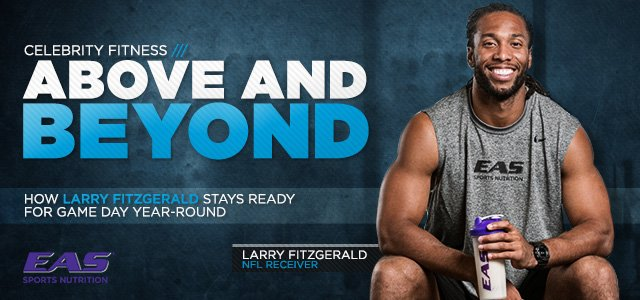 Above And Beyond: Larry Fitzgerald's Workout And Nutrition