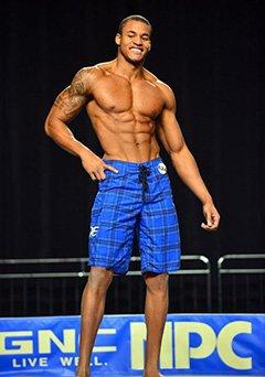 bodybuilder physique
