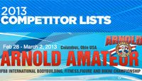 Arnold Amateur Competitor Lists