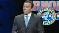 2013 Arnold Classic Finals Replay - Arnold Schwarzenegger Gives Thanks