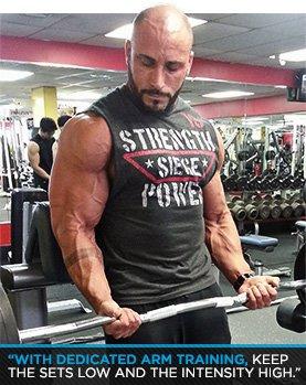 Get Big Arms Noah Siegels Sleeve Busting Workout