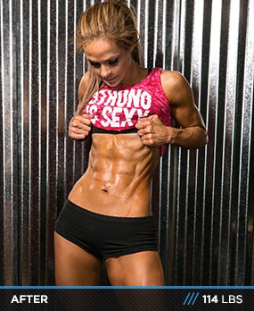 Body transformation disappearing body fat