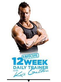 12 Week Hardcore Trainer with Kris Gethin