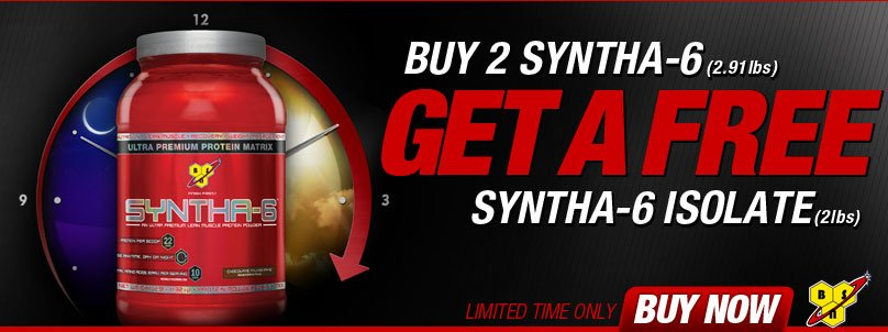 FREE BSN Syntha-6 Isolate