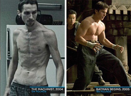 Celebrity Workout - Christian Bale Gets Super-Buff For 'The Dark Knight'!