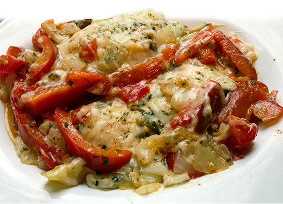 Chicken with White Wine Tomato Sauce