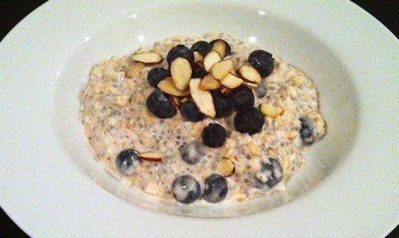 how to eat oats bodybuilding