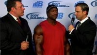 2013 Arnold Classic Finals Replay - Interview With Dexter Jackson