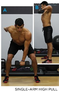 Dumbbell High Pull Muscles Worked