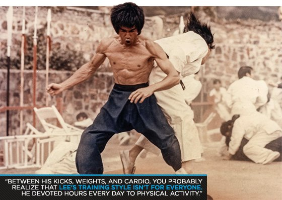 Enter The Six-Pack: Train Like Bruce Lee