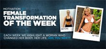 Female Transformation Of The Week - Katie Kubont Shed 32 Pounds!