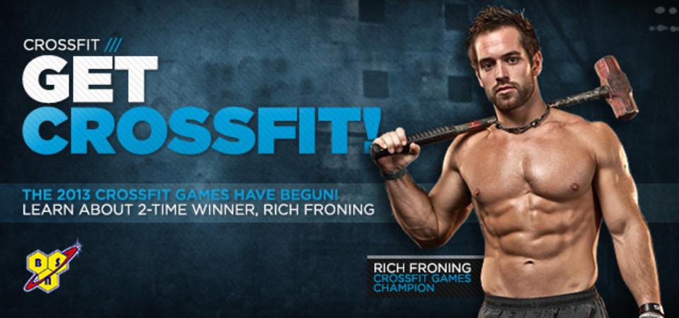 Get CrossFit Fit! Rich Froning Video Series