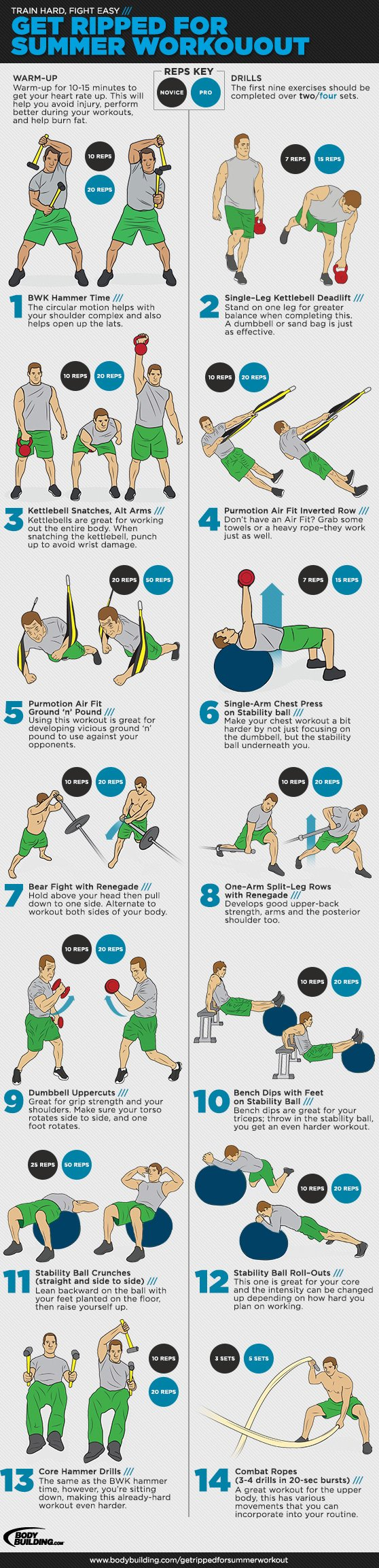 Get Ripped For Summer With Dynamic Bodybuilding Drills