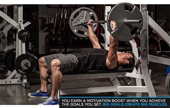 Big goals create big muscles