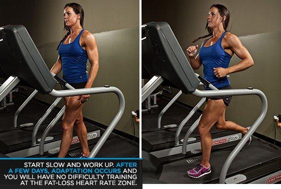 Ćwiczenia aerobowe - Zacznij powoli i pracuj.