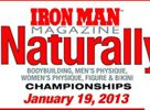 2012 NPC Iron Man Naturally Info