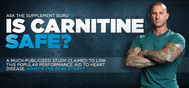 Ask The Supplement Guru: Is Carnitine Safe?