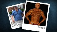 Body Transformation: John Set His Fat Ablaze