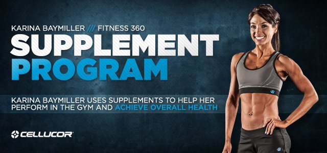 Fitness 360: Karina Baymiller, Petite Powerhouse-Supplementation