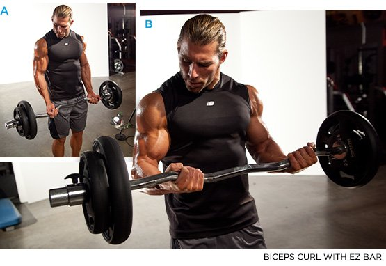 Biceps Curl With Bar