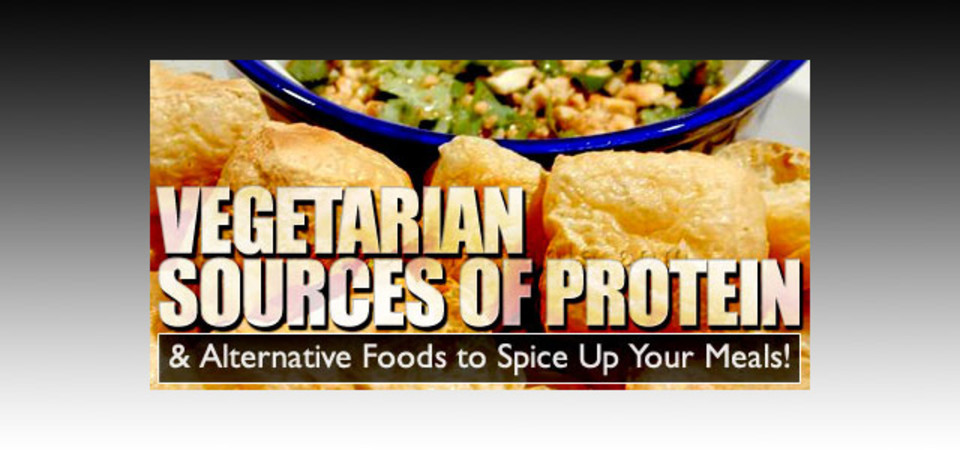 Vegetarian Sources Of Protein Alternative Foods To Spice Up Your Meals