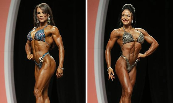bodybuilders that didn't use steroids