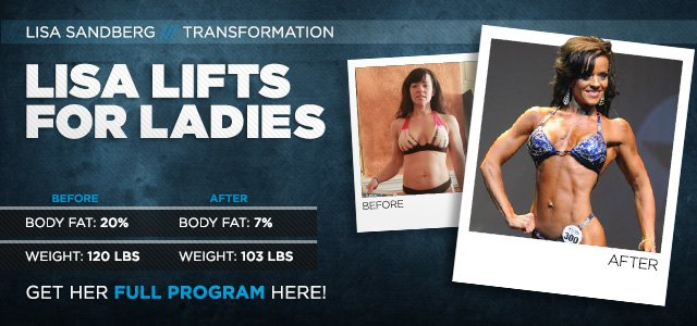Body Transformation: Lisa Lifts For Ladies