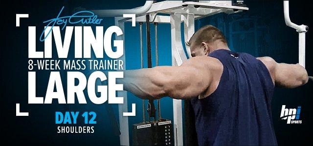 Jay Cutler S  Week Mass Building Trainer