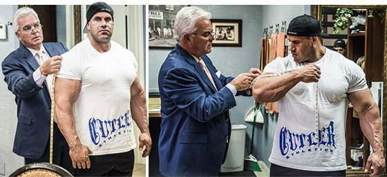 Article: Jay Cutler - LIVE LARGE - Mr Olympia 2013 series
