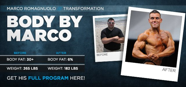 Body Transformation: Body By Marco