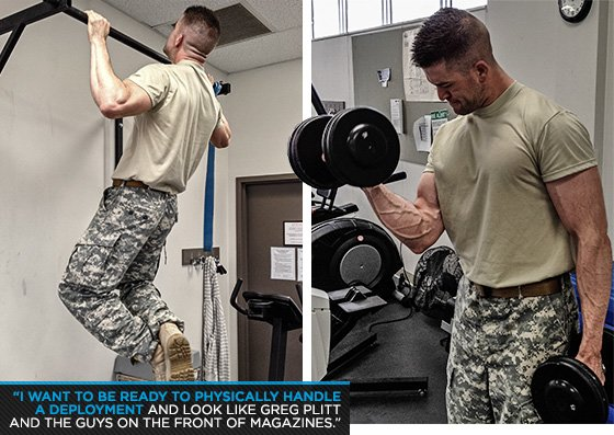 Military Bodybuilder Of The Month: Isaac Engle