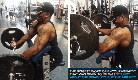 Military Bodybuilder Of The Month: Sgt  Corwyn Collier