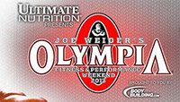 Olympia Weekend Event Schedule