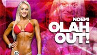 Noemi Olah OUT of the Bikini International