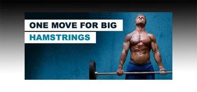 One Move For Big Hamstrings: Stiff-Legged Deadlift