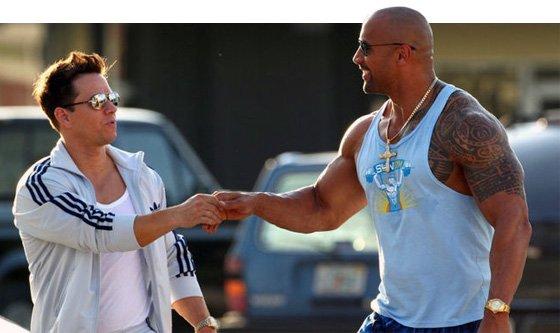 Pain & Gain Exclus... The Rock Dwayne Johnson Body 2013