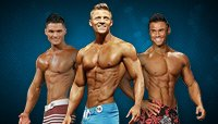 Men's Physique Debuts At The 2013 Olympia Showdown