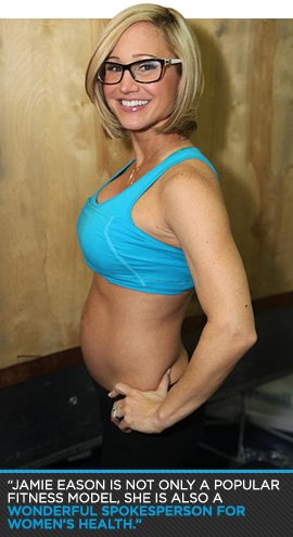 Pregnant Jamie Eason