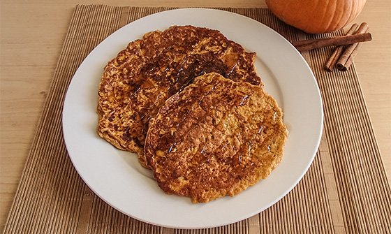 ... On Your Growth Switch With Pumpkin Protein Pancakes - Bodybuilding.com