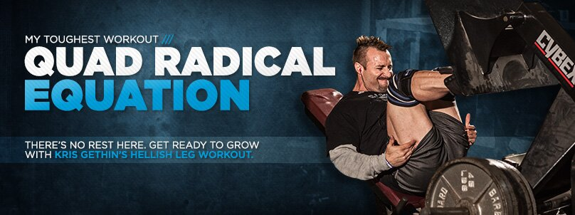 Kris Gethin's Toughest Workout