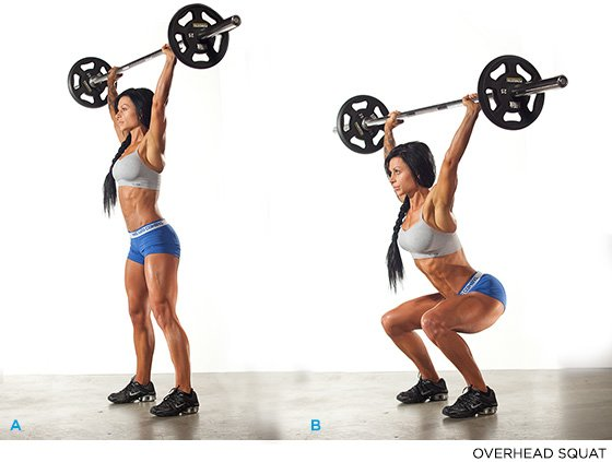 Raise The Bar: How To Master The Overhead Squat